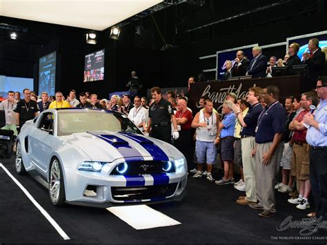 speed mustang sells big  charity  barrett