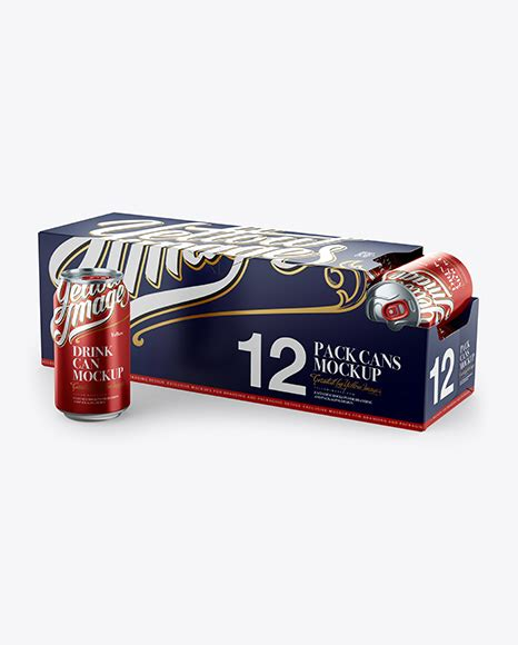 What will this package look like in stores? 12 Aluminium Cans with Metallic Finish in Shelf-Ready ...