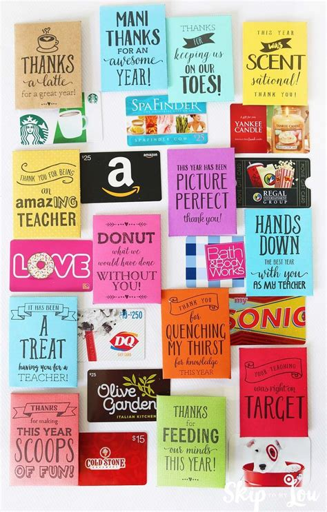 25 best ideas about daycare gifts on 385 | 35497f3e1cdf257dc390abb50377586a printable gift cards free printable