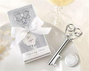 Key to my heart bottle opener key shaped wedding favor for Bottle opener wedding favor