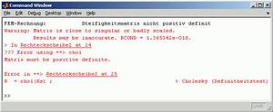 Matrix Rechnung : matlab falsches ergebnis f r lineares gleichungssystem ~ Themetempest.com Abrechnung