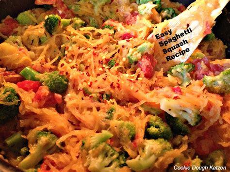 simple spaghetti squash recipes lunch dinner the zen kat