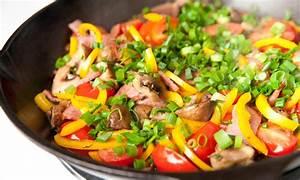 Receta de salteado de cerdo con vegetales