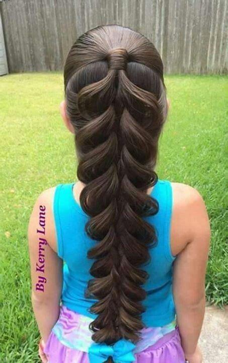 breiter zopf flecht frisuren gleich lange haare