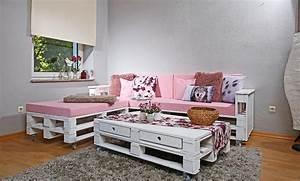 Sofa Aus Paletten Selber Bauen : paletten sofa bauen anleitung ~ Michelbontemps.com Haus und Dekorationen