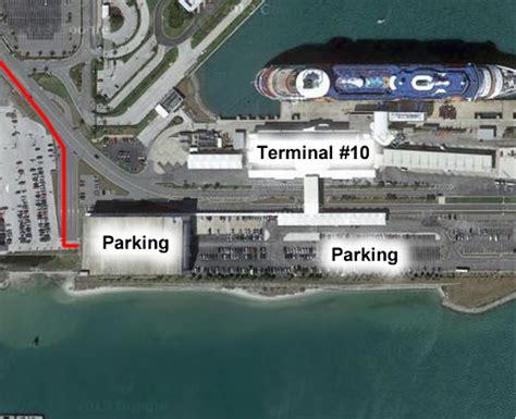 Car Parking At Canaveral by Canaveral Overview Parking Terminals And Maps