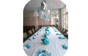 decoration de table bapteme fille