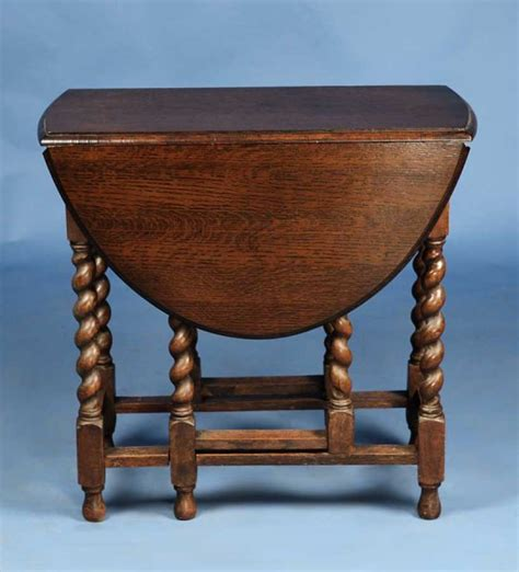 vintage drop leaf side table narrow english oak antique gate leg drop leaf side table