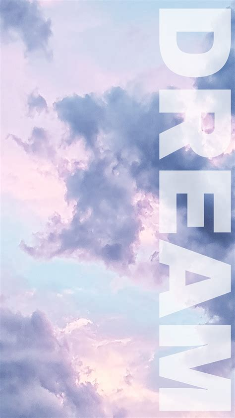 6 cloudy pastel iphone wallpapers for daydreamers preppy