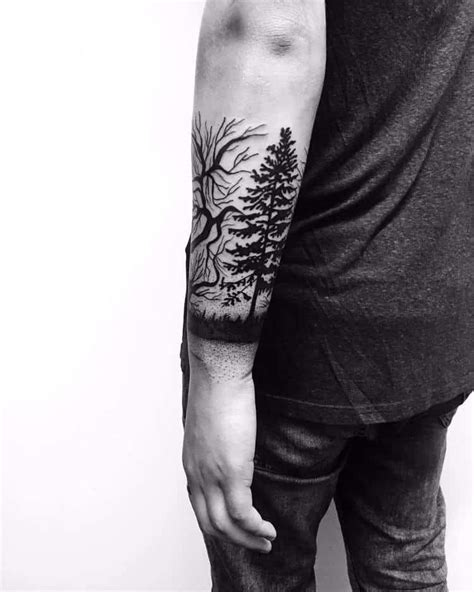 creative forest tattoo designs  ideas page