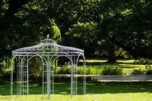 Gartenpavillon Aus Metall : gartenpavillon metall verzinkt 350cm eleganz ~ Michelbontemps.com Haus und Dekorationen