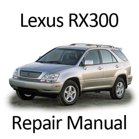 lexus rx   repair manual