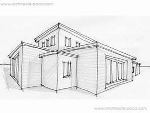 plan maison de 6 pieces villa bbcd39architecte 139 villa With dessiner maison en 3d 2 interieur maison en perspective