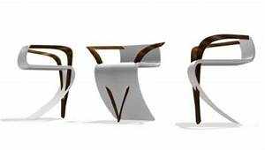 Chaise Moderne Design : exemples de chaises au design moderne ~ Teatrodelosmanantiales.com Idées de Décoration
