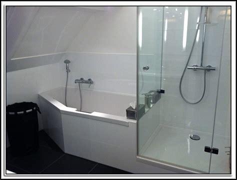 Badewanne Mit Dusche Kombiniert  Badewanne  House Und