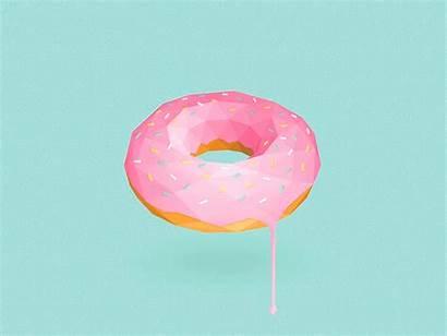 Poly Low Tastemade Animated Portfolio Donut Puma