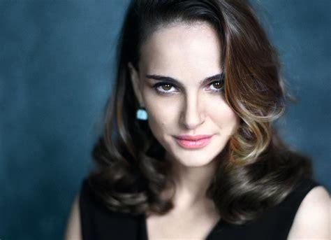 Natalie Portman Mathieu Cesar For Elle France February