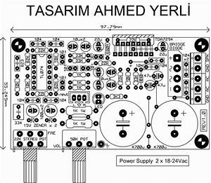 Do It By Self With Wiring Diagram  Tda7294 Subwoofer Amplifier Circuit