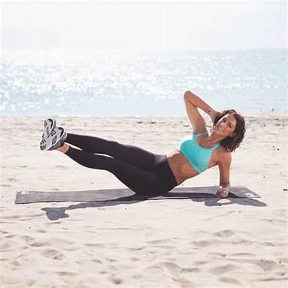 Abs Workout Mermaid Karena Minute Shape Slide