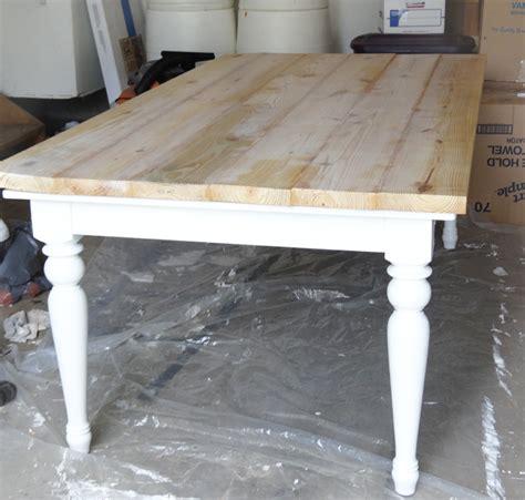 farmhouse kitchen table light beat up table turned beautiful farmhouse table provident