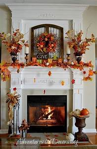 24, Best, Fall, Mantel, Decorating, Ideas, And, Designs, For, 2020