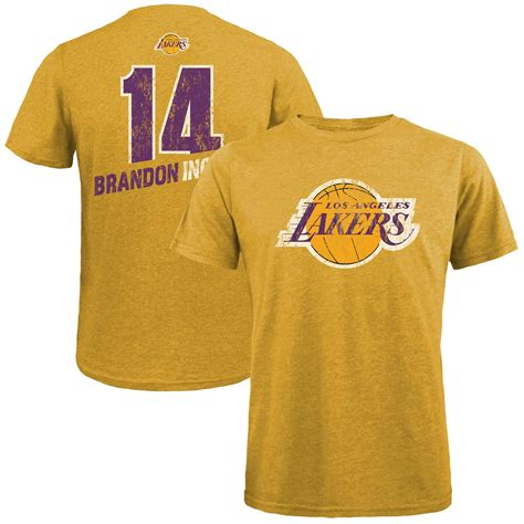 Brandon Ingram Los Angeles Lakers Majestic Threads Name ...