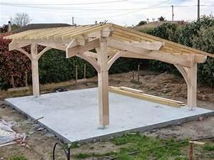 Carport bois discount for Nice abri de jardin bois pas cher leroy merlin 2 carport 3 voitures bois