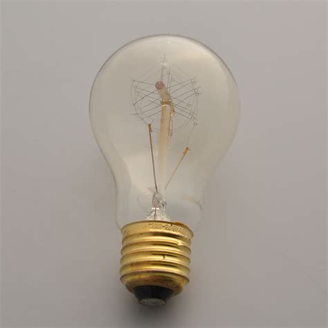 Filament Light Bulbs by Vintage Edison Tungsten Filament A19 220v 40w E27 Light