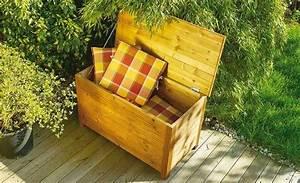 Auflagenbox Selber Bauen : die besten 25 auflagenbox holz ideen auf pinterest auflagenbox garten auflagenbox und truhe ~ Markanthonyermac.com Haus und Dekorationen