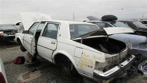 small engine maintenance and repair 1986 buick skylark electronic toll collection junkyard find 1985 buick skylark limited sedan