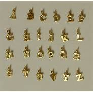 Gold Vermeil Letter Charms By Stilvi On Etsy Jewelry Findings Charms For Jewelry Making Lobster Clasp Letter Charms Jared PANDORA Letter A Charm Sterling Silver Charms Pandora Letter Charms Pandora Pandora Letter