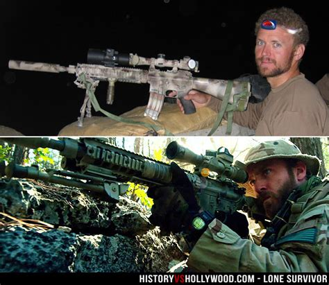 Lone Survivor True Story vs Movie - Real Marcus Luttrell ...