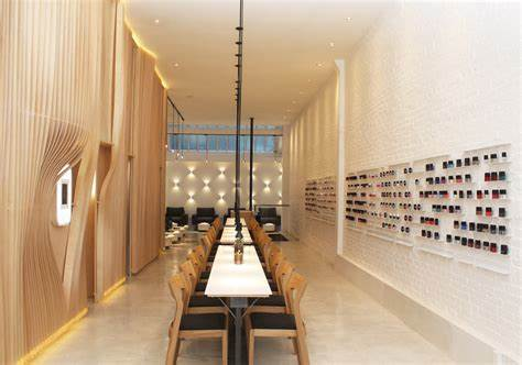 6 High-Design Nail Salons from Coast to Coast Photos | Architectural Digest