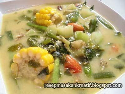 resep sayur lodeh bumbu sederhana masakan sunda aneka