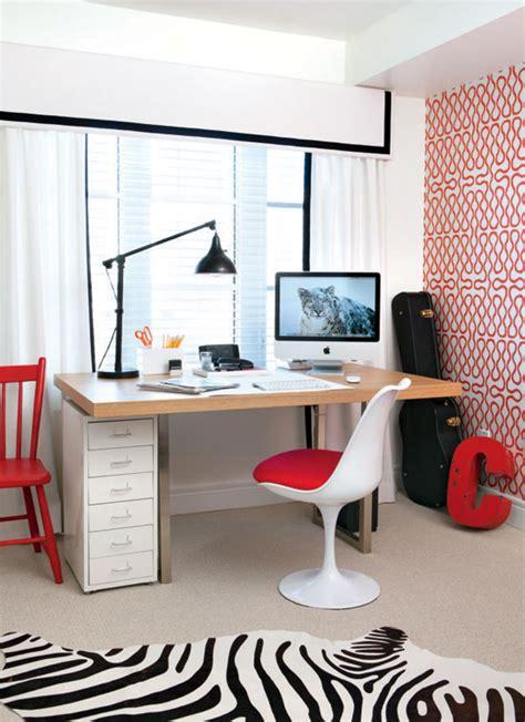 espace bureau dans salon aménager un mini coin bureau dans petit salon