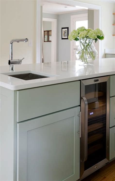 prep sinks for kitchen islands corner island prep sink next to glass front wine fridge 7575