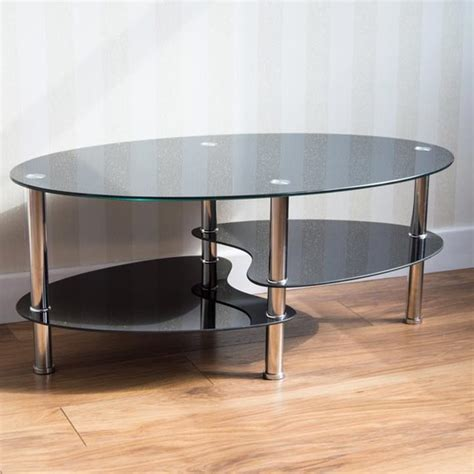 cara coffee table black glass cara coffee table with storage