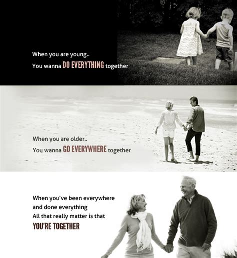 growing older together quotes