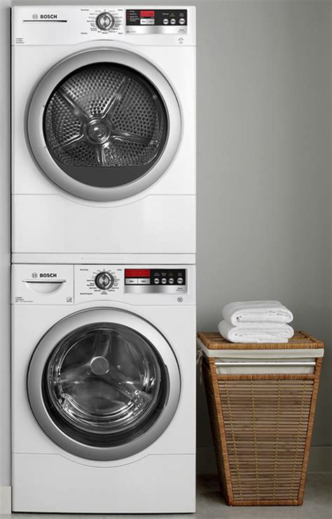 stackable bosch washer and dryer energy efficient and