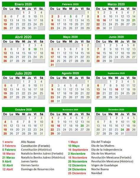 calendario mexico festivos festivos mexico
