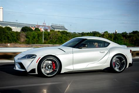 exclusive manual equipped toyota supra  finally coming