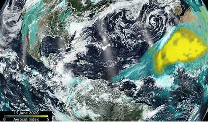 Dust Cloud Godzilla Storm Arctic Sahara Africa