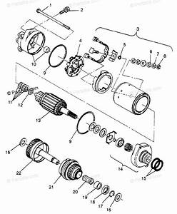 Polaris Watercraft 1997 Oem Parts Diagram For Starting