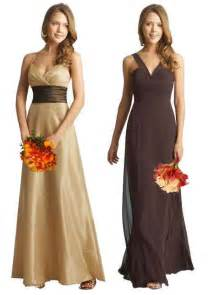 brown dresses for wedding brown and gold bridesmaid dresses bridesmaid dresses