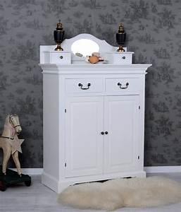 Spiegelschrank Shabby Chic : wohnzimmerschrank weiss vertiko schrank landhausstil spiegelschrank aufsatz ebay ~ Sanjose-hotels-ca.com Haus und Dekorationen