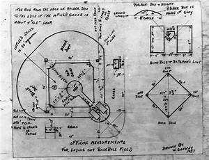 Old Baseball Field Diagram