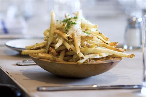 truffle fries easy homemade truffled french fries recipe