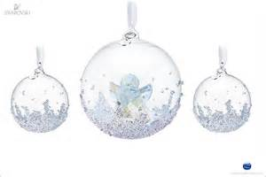 swarovski christmas ball ornament set 2015