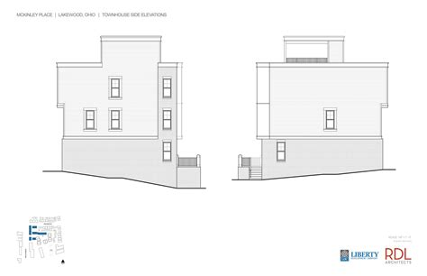 townhouse side elevations floor plans townhouse homes