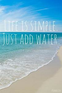 10 Beach Quotes... Simple Water Quotes